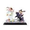 Diorama Okamiden Chibiterasu vs. Dark Chibiterasu & Possessed Kuni 33cm 1001 Figurines (15)