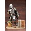 Statuette Star Wars The Mandalorian ARTFX Mandalorian & The Child 26cm 1001 Figurines (10)