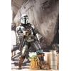 Statuette Star Wars The Mandalorian ARTFX Mandalorian & The Child 26cm 1001 Figurines (24)