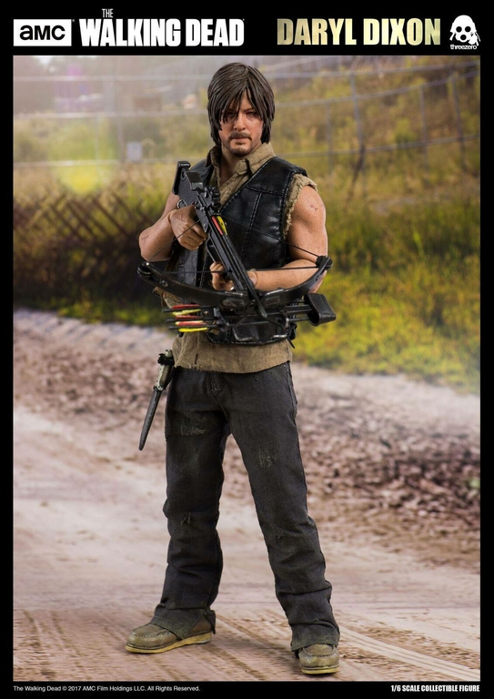 Figurine The Walking Dead Daryl Dixon 30cm 1001 Figurines