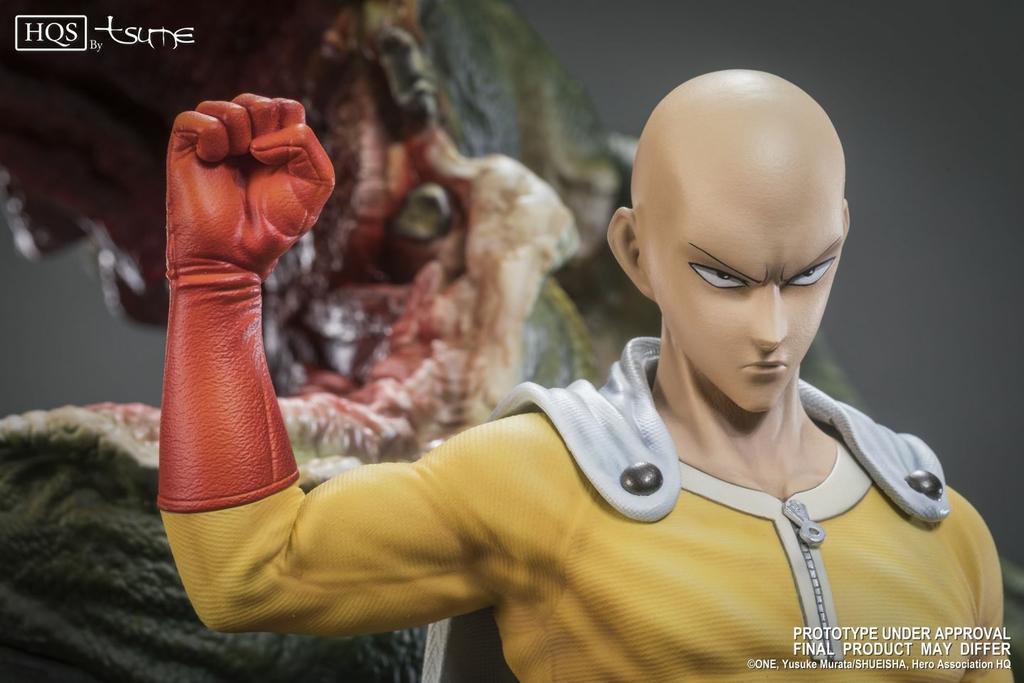 Statue One Punch Man Saitama HQS Tsume 60cm 1001 Figurines 5