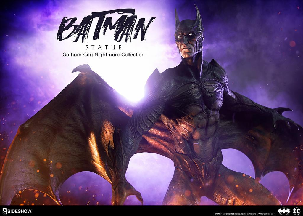 Statuette DC Comics Gotham City Nightmare Collection Batman 50cm 1001 Figurines
