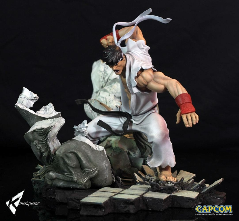 Diorama Street Fighter Battle of the Brothers Ryu 45cm 1001 Figurines