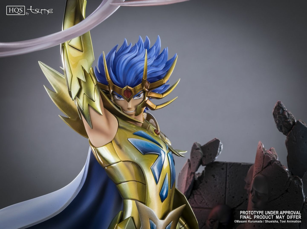 Statue Saint Seiya Deathmask du Cancer HQS by Tsume 45cm 1001 Figurines 11