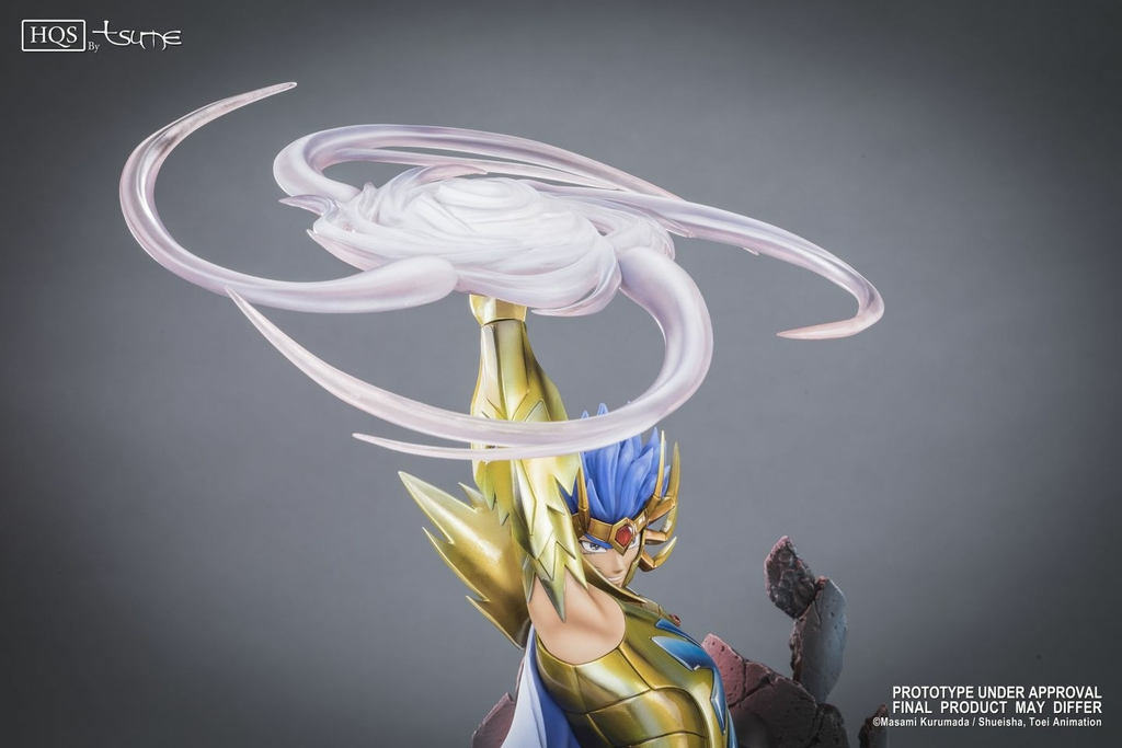Statue Saint Seiya Deathmask du Cancer HQS by Tsume 45cm 1001 Figurines 12