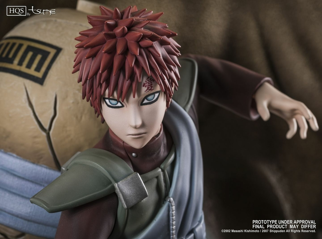 Statue Naruto Shippuden Gaara A fathers hope, a mothers love HQS by TSUME  1001 Figurines 2