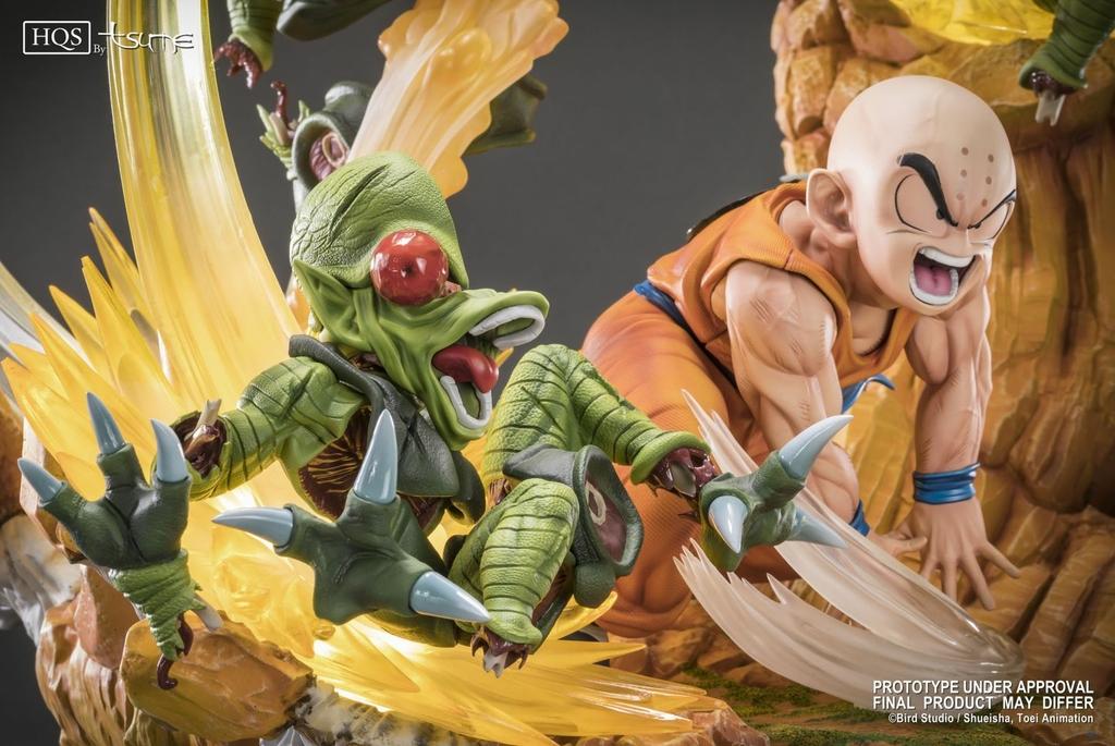 Statue DBZ Krillin Chap 0 Des guerriers terrifiés HQS by TSUME 1001 Figurines 3