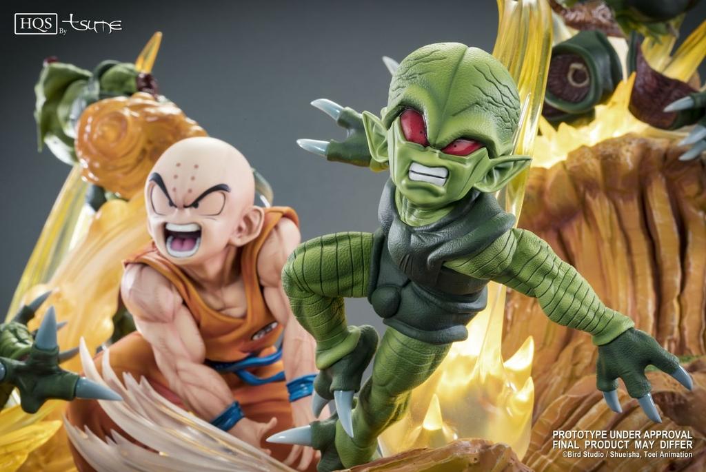 Statue DBZ Krillin Chap 0 Des guerriers terrifiés HQS by TSUME 1001 Figurines 5