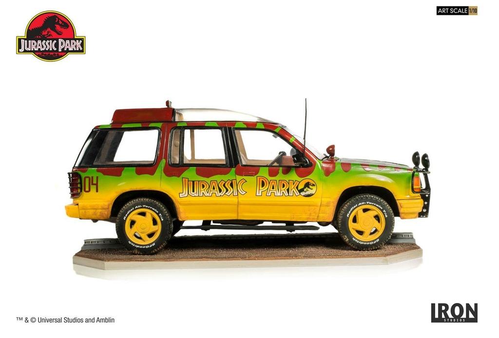 Réplique Jurassic Park Art Scale Jungle Explorer 04 - 21cm 1001 Figurines