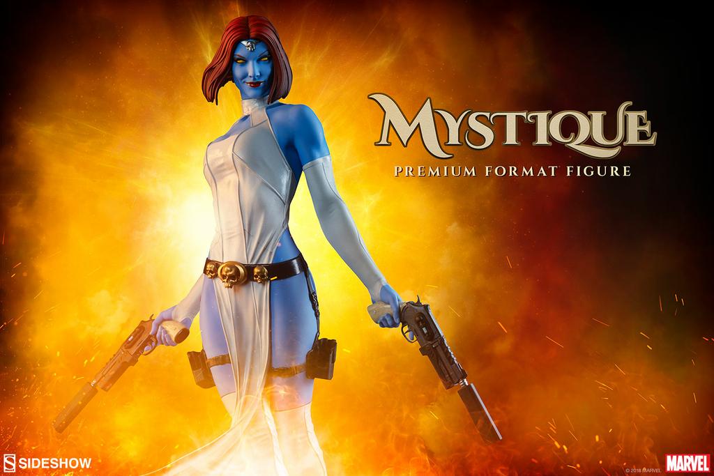 Statue Marvel Comics Premium Format Mystique 48cm 1001 Figurines