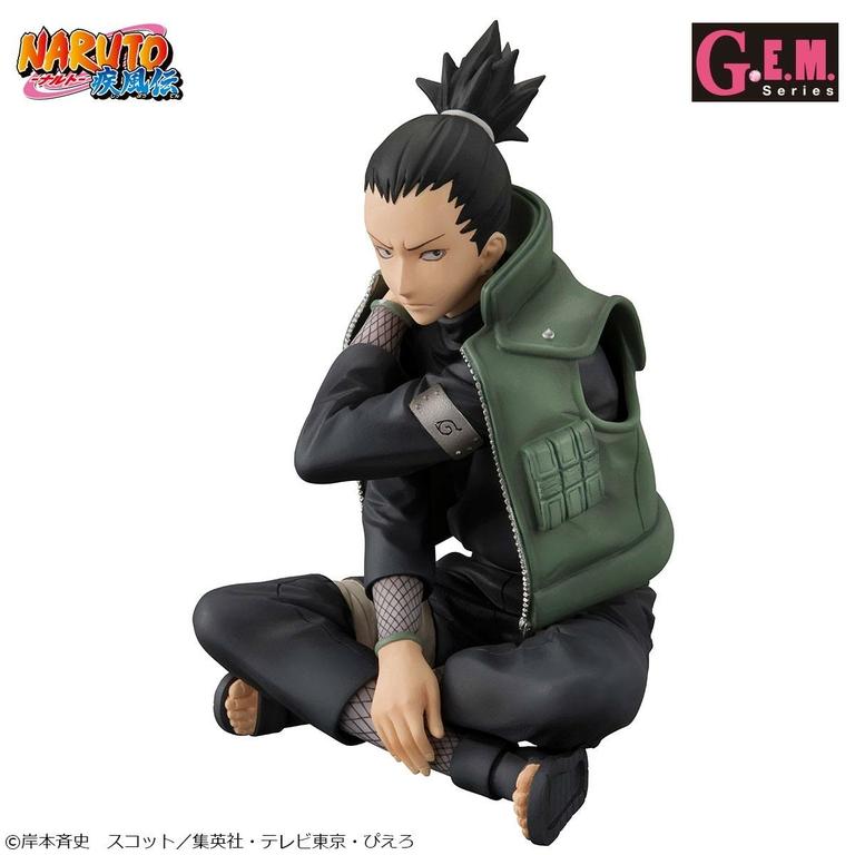 Statuette Naruto Shippuden G.E.M. Shikamaru Nara 15cm 1001 Figurines