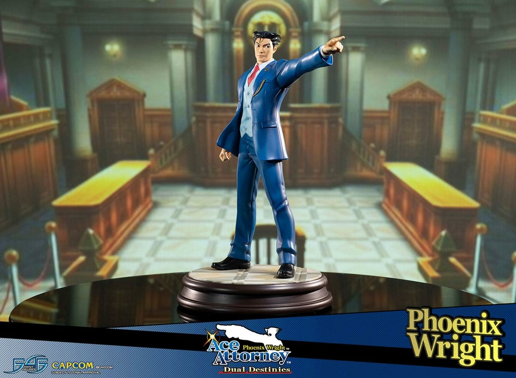 Statuette Phoenix Wright Ace Attorney Dual Destinies Phoenix Wright 34cm 1001 Figurines