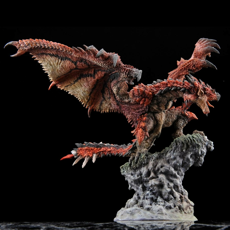 Statuette Monster Hunter Creators Model Rathalos Resell Version 21cm 1001 Figurines