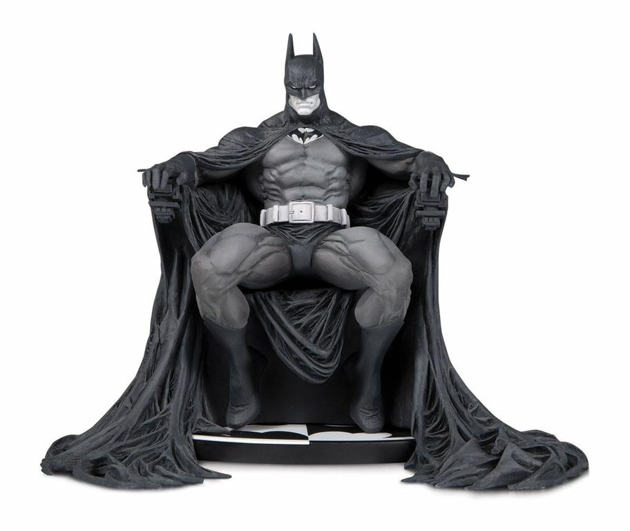 Statuette Batman Black & White Batman by Marc Silvestri 15cm 1001 Figurines