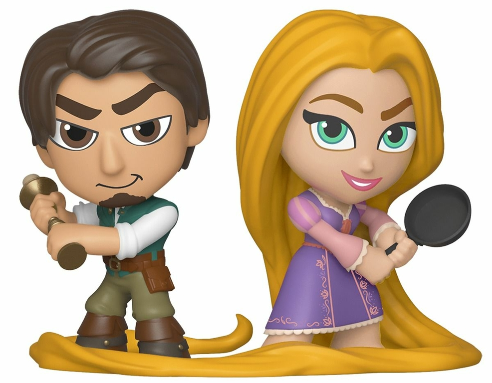 Pack Disney Princess Mystery Mini Funko Flynn & Rapunzel 6cm 1001 figurines 2