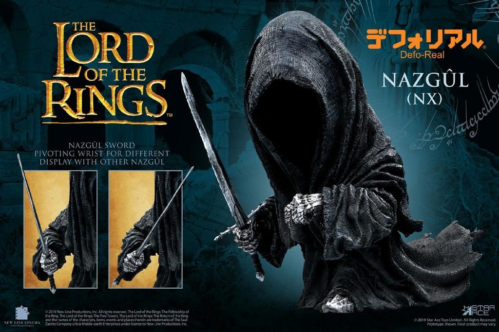 Figurine Le Seigneur des Anneaux Defo-Real Series Nazgul 15cm 1001 Figurines