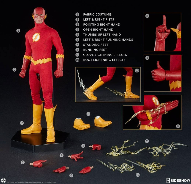 Figurine DC Comics The Flash 30cm 1001 figurines 1 (10)