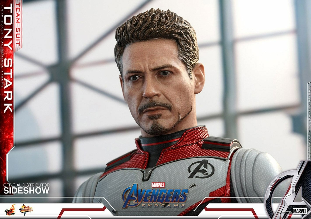 Figurine Avengers Endgame Movie Masterpiece Tony Stark Team Suit 30cm 1001 Figurines (8)
