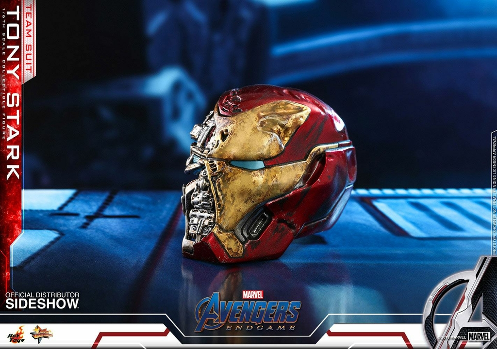 Figurine Avengers Endgame Movie Masterpiece Tony Stark Team Suit 30cm 1001 Figurines (10)