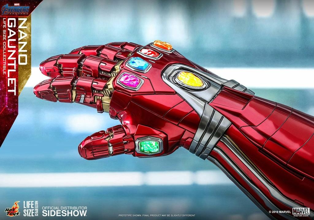 Réplique Avengers Endgame Life-Size Masterpiece Nano Gauntlet 52cm 1001 Figurines (4)