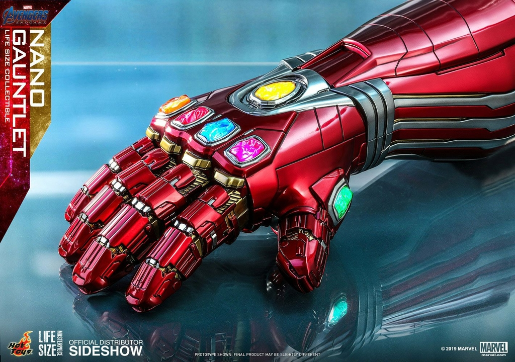Réplique Avengers Endgame Life-Size Masterpiece Nano Gauntlet 52cm 1001 Figurines (7)