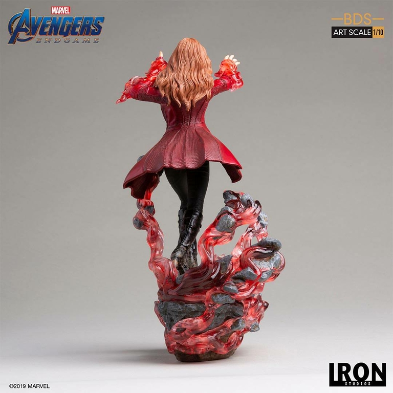 Statuette Avengers Endgame BDS Art Scale Scarlet Witch 21cm 1001 Figurines (3)