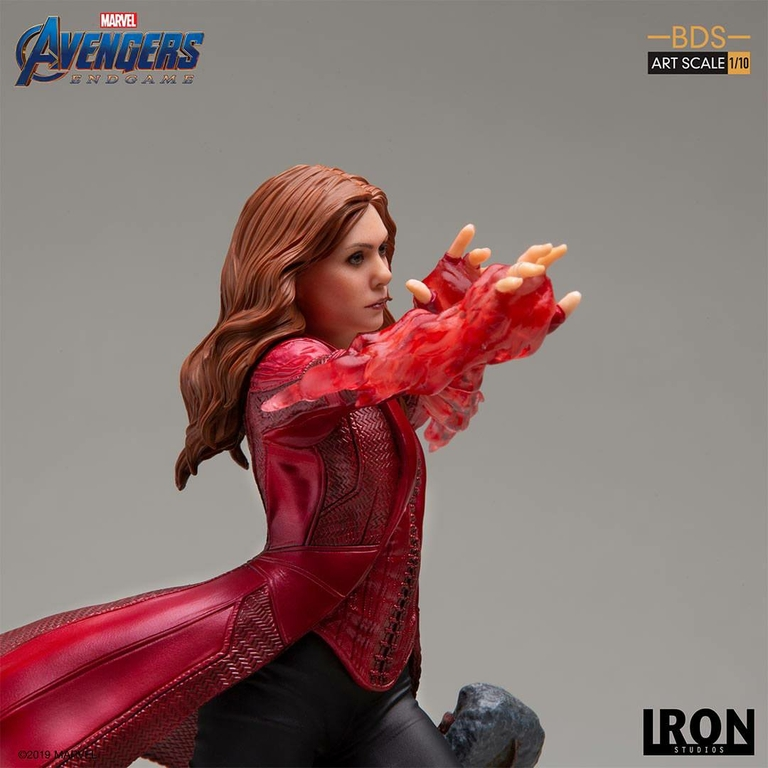 Statuette Avengers Endgame BDS Art Scale Scarlet Witch 21cm 1001 Figurines (6)