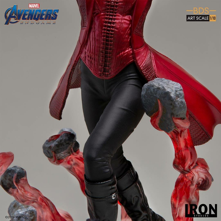 Statuette Avengers Endgame BDS Art Scale Scarlet Witch 21cm 1001 Figurines (7)