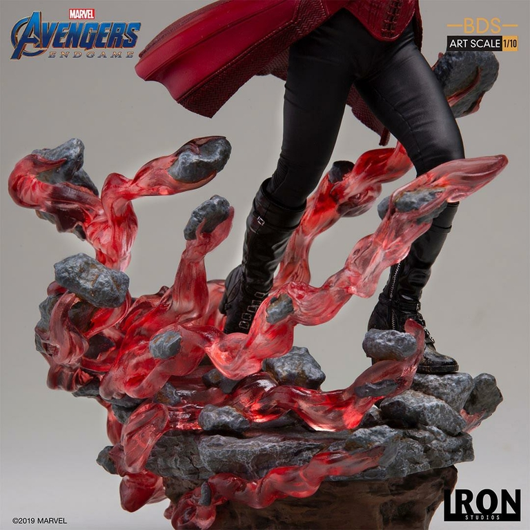 Statuette Avengers Endgame BDS Art Scale Scarlet Witch 21cm 1001 Figurines (8)