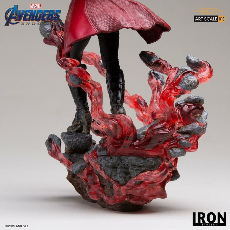 Statuette Avengers Endgame BDS Art Scale Scarlet Witch 21cm 1001 Figurines (9)