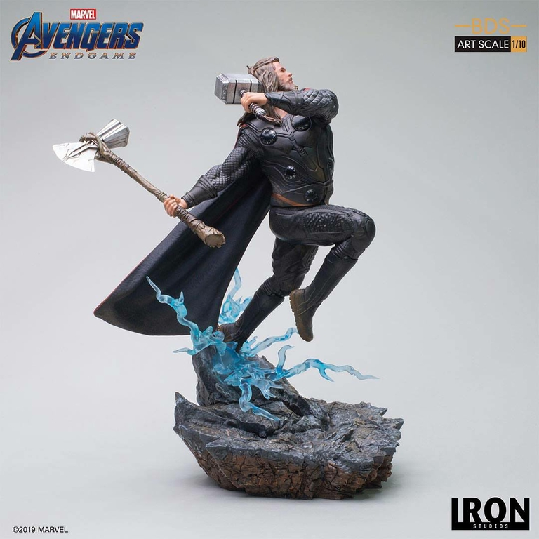 Statuette Avengers Endgame BDS Art Scale Thor 27cm 1001 Figurines (3)
