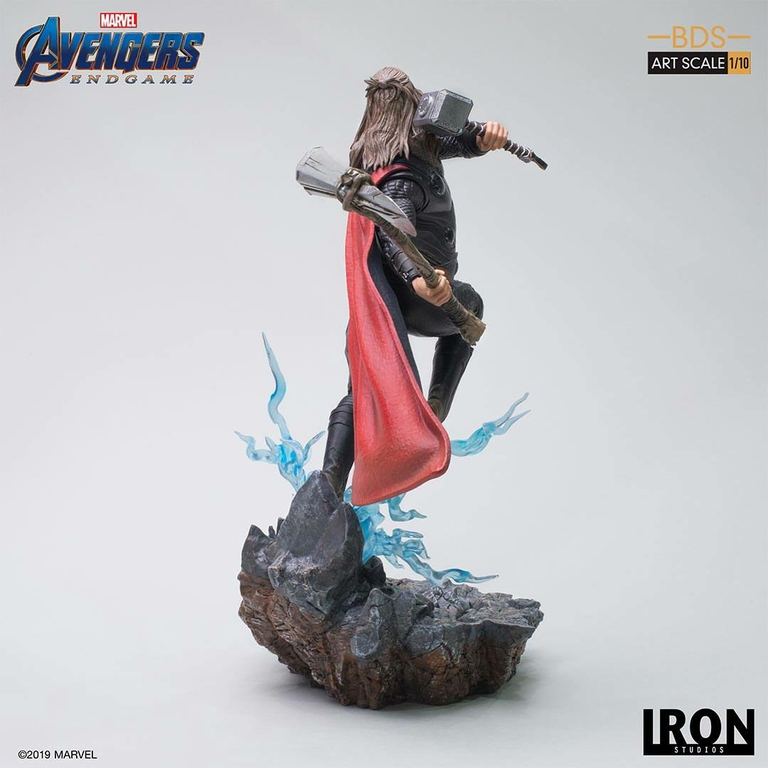 Statuette Avengers Endgame BDS Art Scale Thor 27cm 1001 Figurines (5)