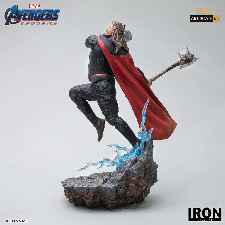 Statuette Avengers Endgame BDS Art Scale Thor 27cm 1001 Figurines (6)