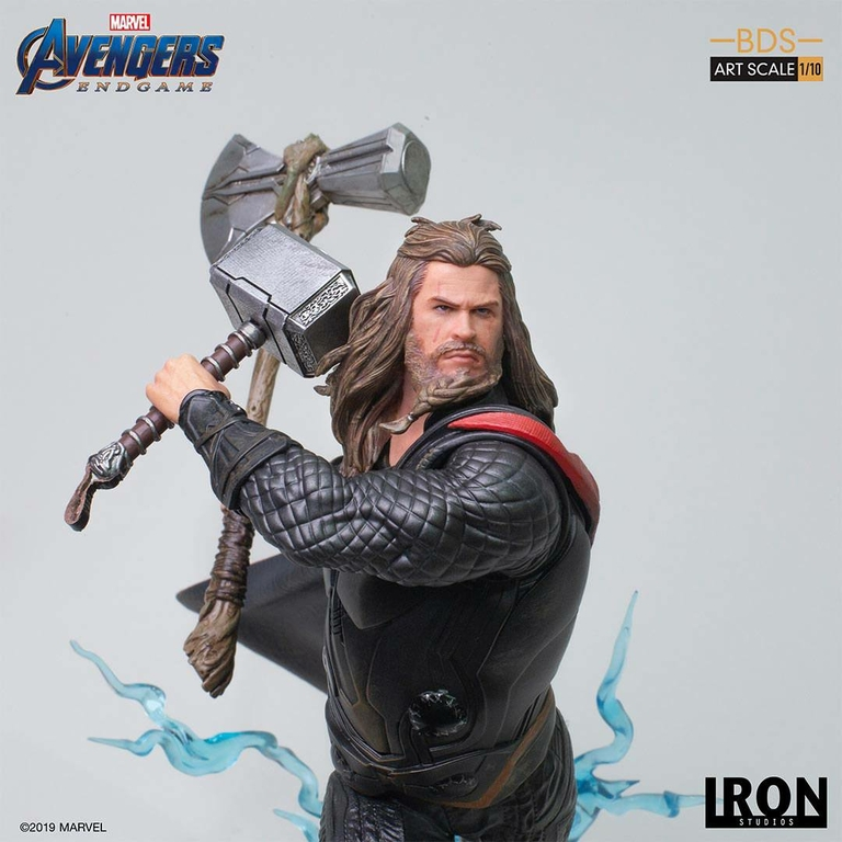 Statuette Avengers Endgame BDS Art Scale Thor 27cm 1001 Figurines (9)