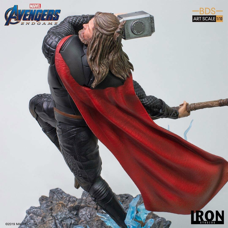 Statuette Avengers Endgame BDS Art Scale Thor 27cm 1001 Figurines (10)