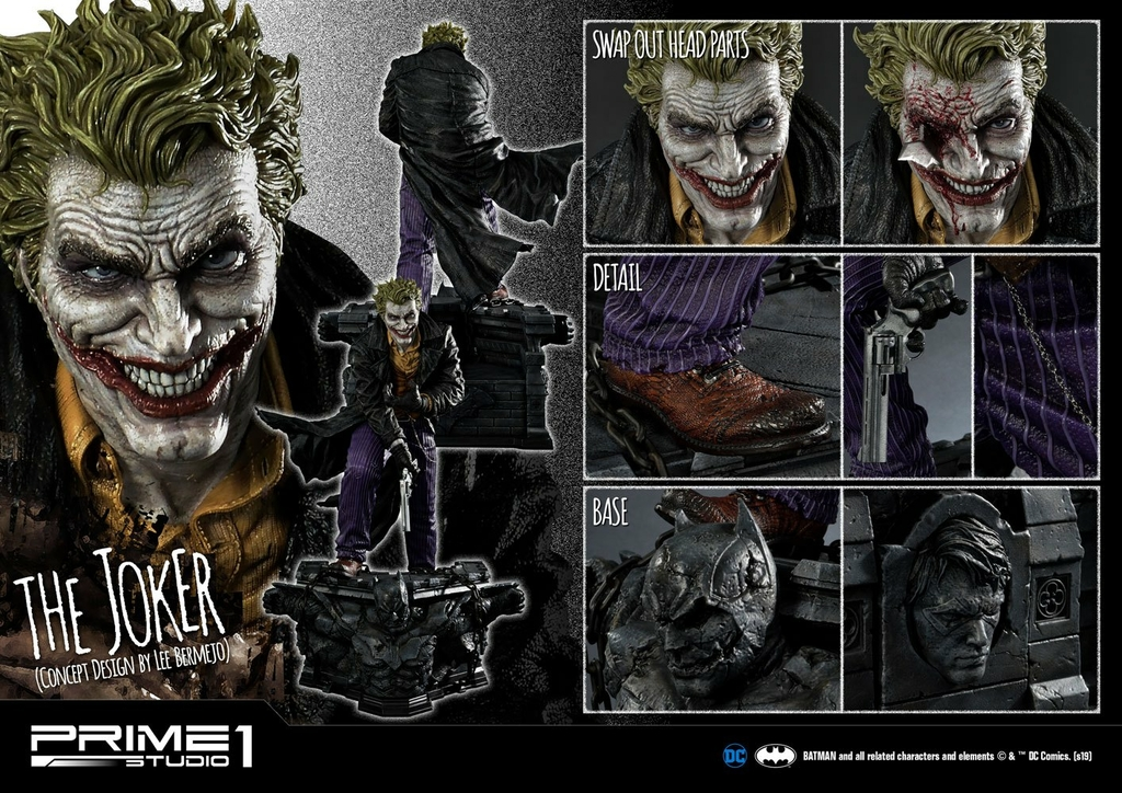 Statue DC Comics The Joker by Lee Bermejo 71cm 1001 Figurines (20)