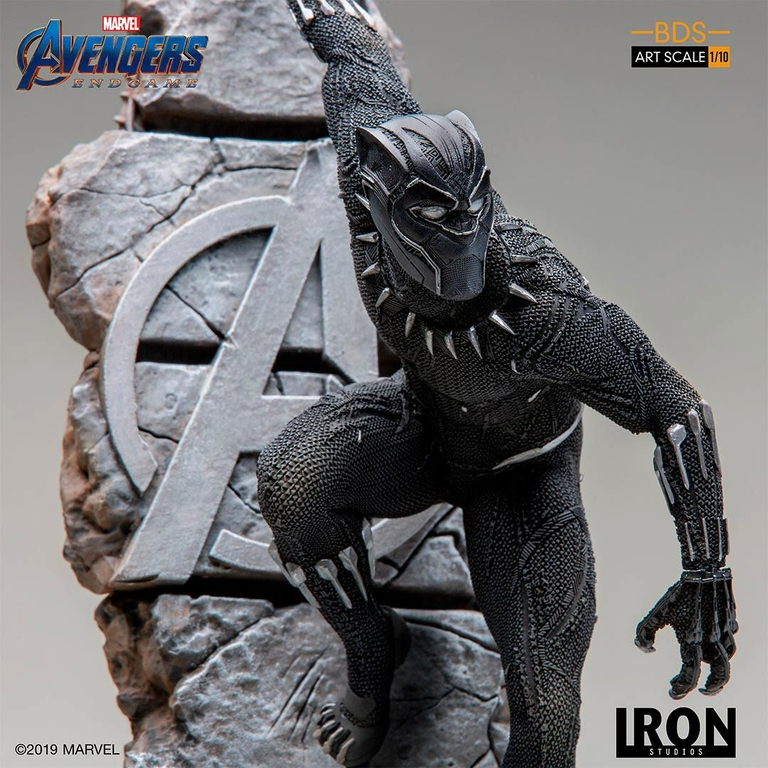 Statuette Avengers Endgame BDS Art Scale Black Panther 34cm 1001 Figurines (5)