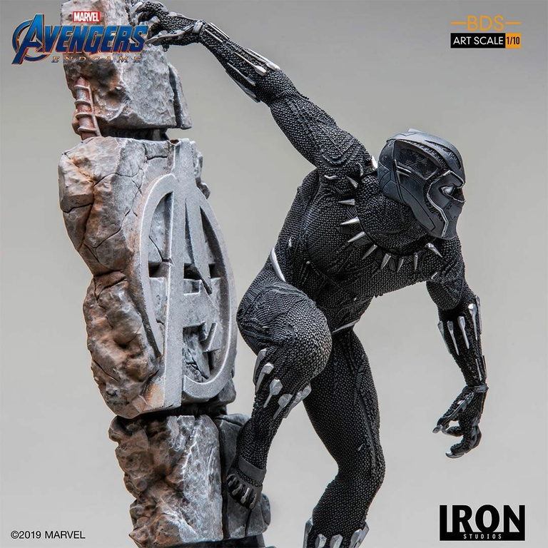 Statuette Avengers Endgame BDS Art Scale Black Panther 34cm 1001 Figurines (6)
