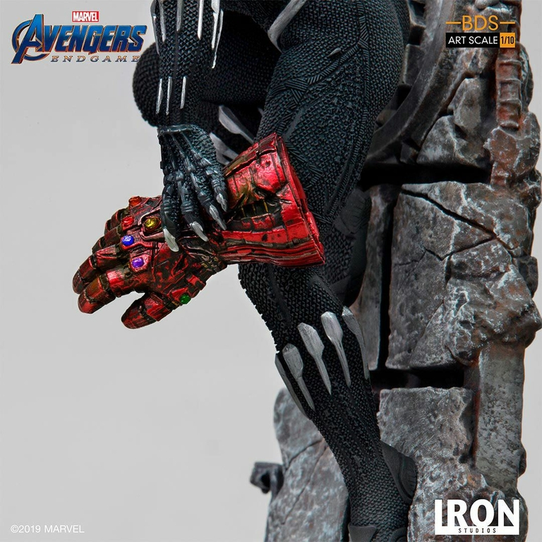 Statuette Avengers Endgame BDS Art Scale Black Panther 34cm 1001 Figurines (9)