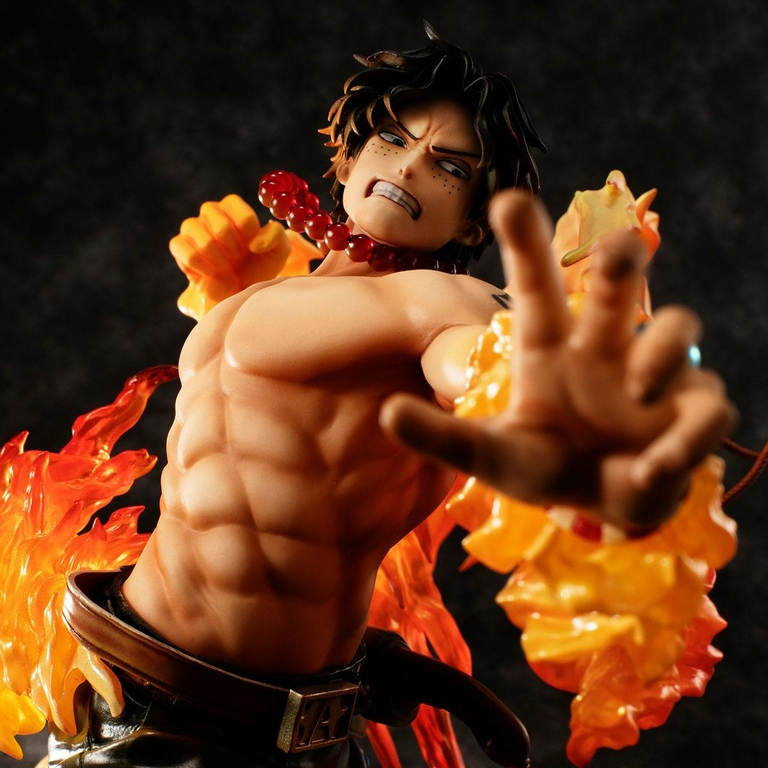 Statuette One Piece P.O.P. NEO-Maximum Portgas D. Ace 15th Anniversary Limited Ver. 23cm 1001 Figurines (2)