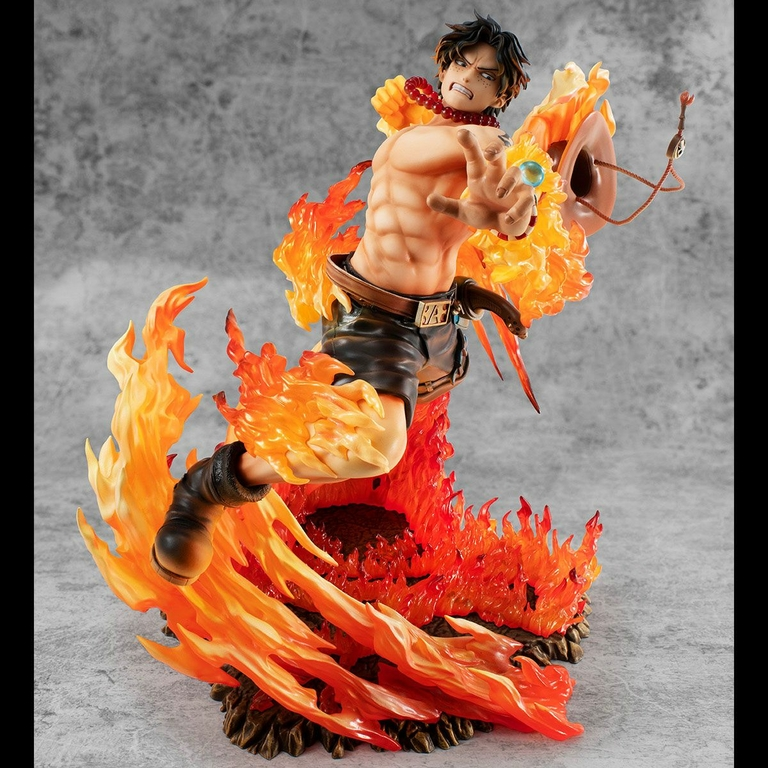 Statuette One Piece P.O.P. NEO-Maximum Portgas D. Ace 15th Anniversary Limited Ver. 23cm 1001 Figurines (3)