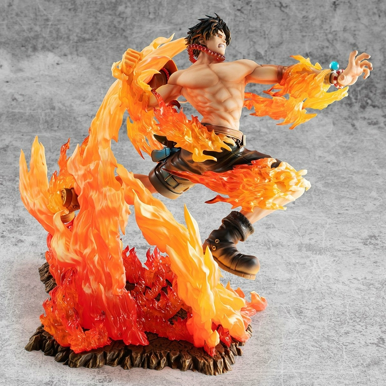 Statuette One Piece P.O.P. NEO-Maximum Portgas D. Ace 15th Anniversary Limited Ver. 23cm 1001 Figurines (4)