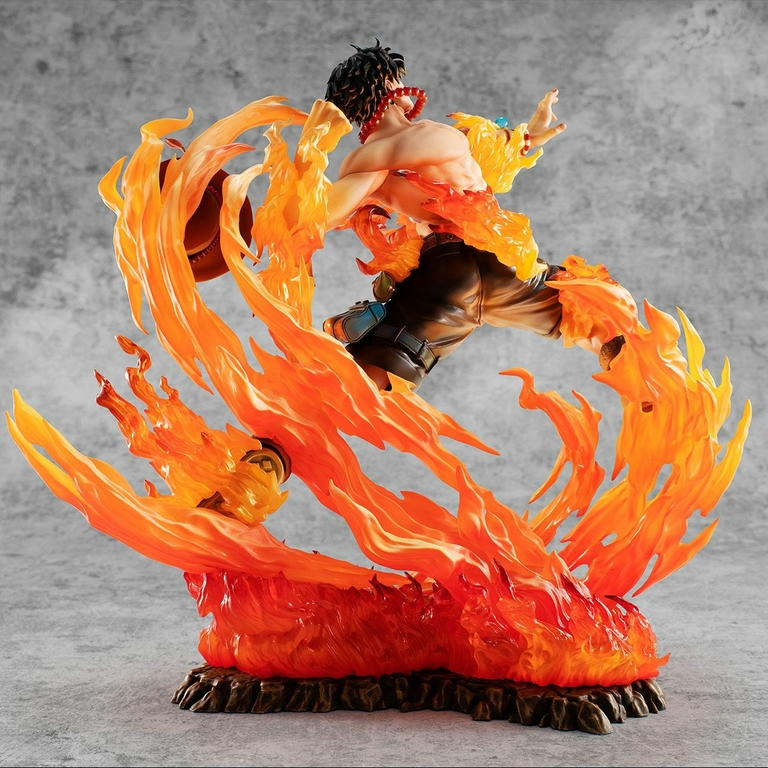 Statuette One Piece P.O.P. NEO-Maximum Portgas D. Ace 15th Anniversary Limited Ver. 23cm 1001 Figurines (5)