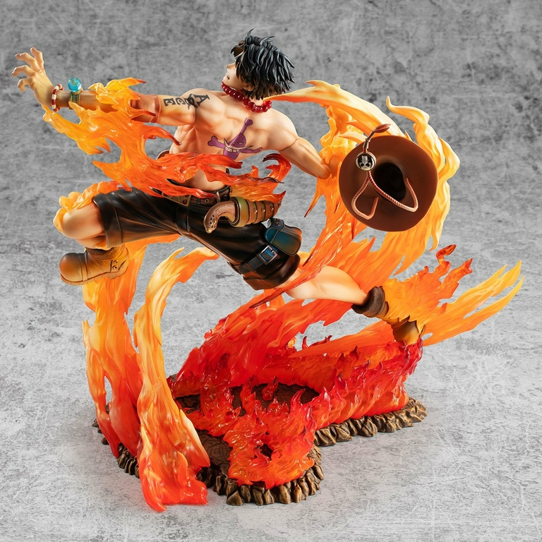 Statuette One Piece P.O.P. NEO-Maximum Portgas D. Ace 15th Anniversary Limited Ver. 23cm 1001 Figurines (6)