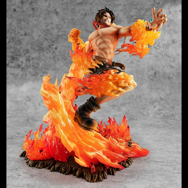 Statuette One Piece P.O.P. NEO-Maximum Portgas D. Ace 15th Anniversary Limited Ver. 23cm 1001 Figurines (7)