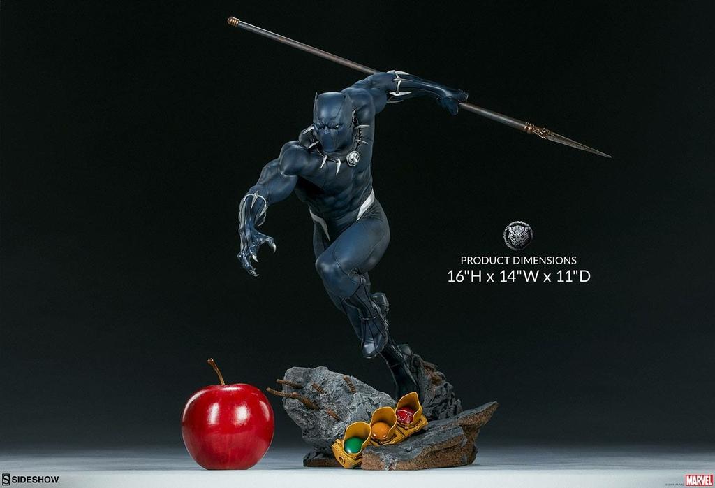 Statuette Avengers Assemble Black Panther 41cm 1001 FIGURINES (2)
