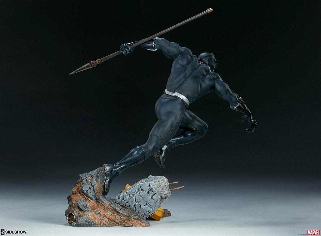 Statuette Avengers Assemble Black Panther 41cm 1001 FIGURINES (3)