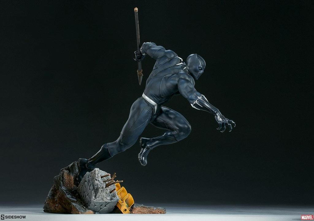 Statuette Avengers Assemble Black Panther 41cm 1001 FIGURINES (4)