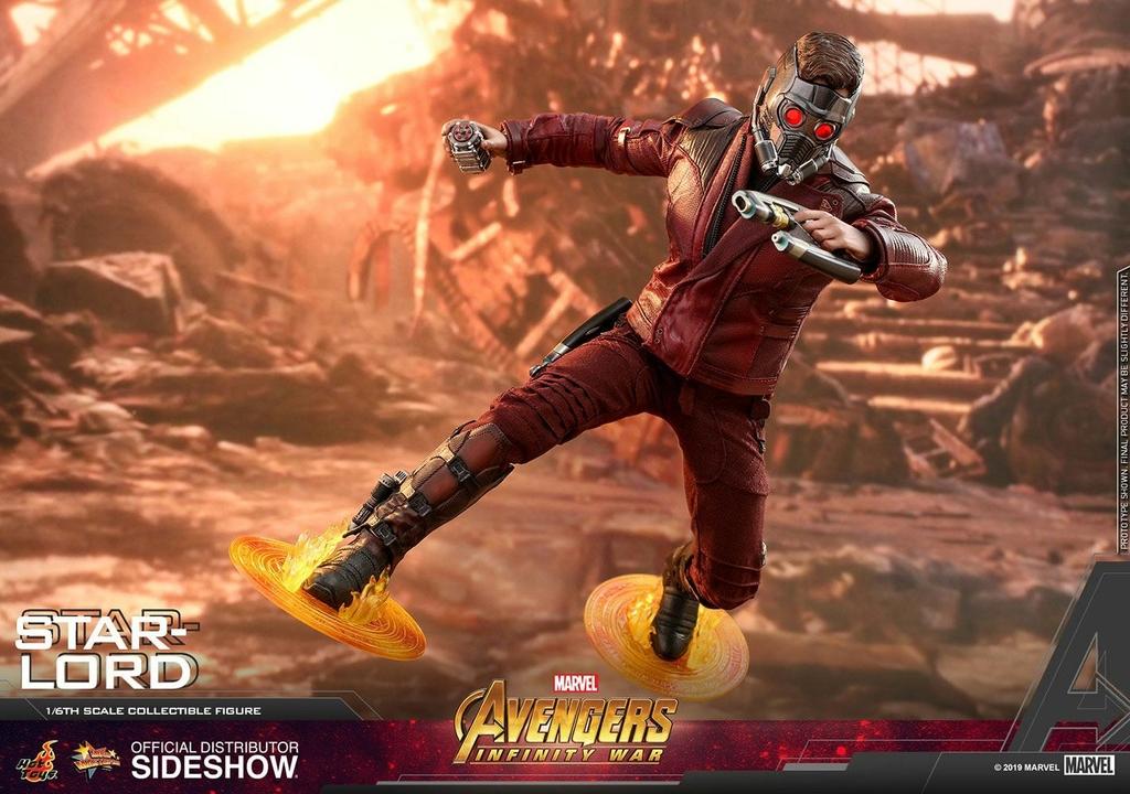 Figurine Avengers Infinity War Movie Masterpiece Star-Lord 31cm 1001 Figurines (8)