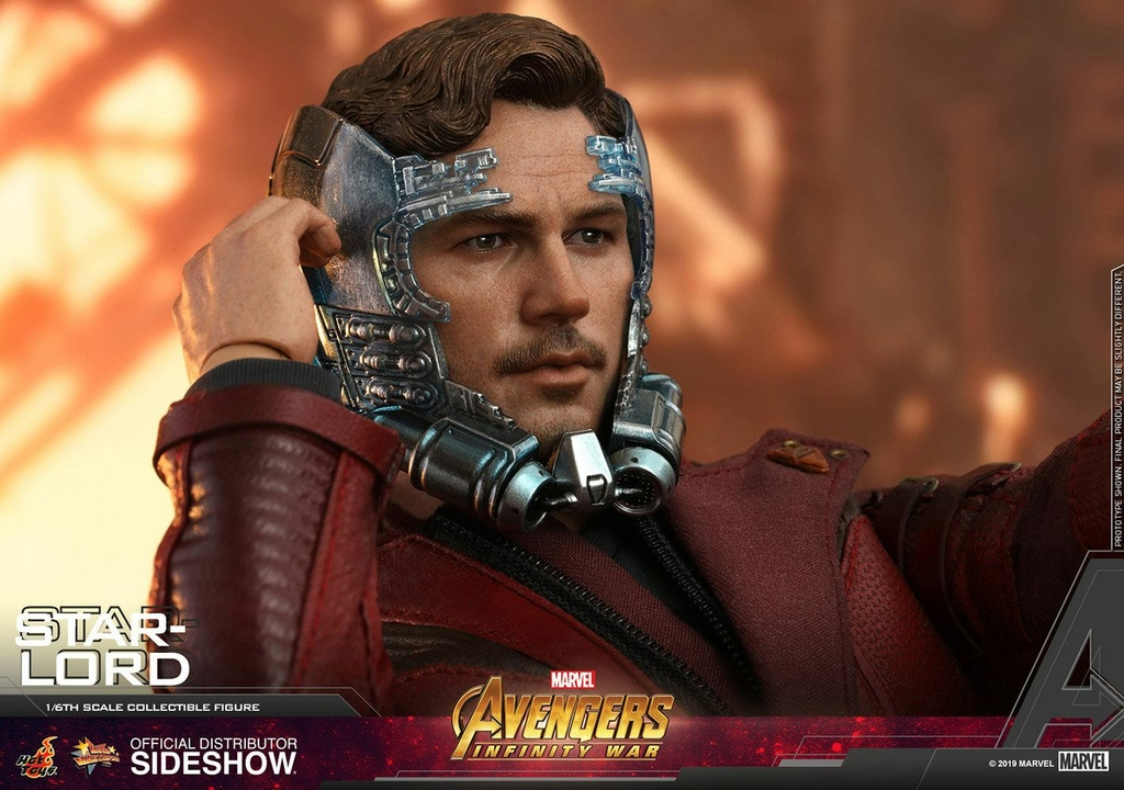 Figurine Avengers Infinity War Movie Masterpiece Star-Lord 31cm 1001 Figurines (11)